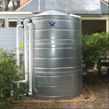 Stainless Steel Water Storage Cistern Tank - 2015 Gallon 2 ... & Stainless Steel Water Storage Cistern Tank - 2015 Gallon ...