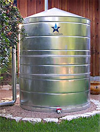 Stainless Steel Water Storage Cistern Tank 2500 Gallon 1