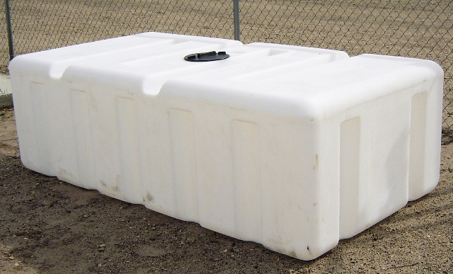 Custom roto molding gallon rectangular tank