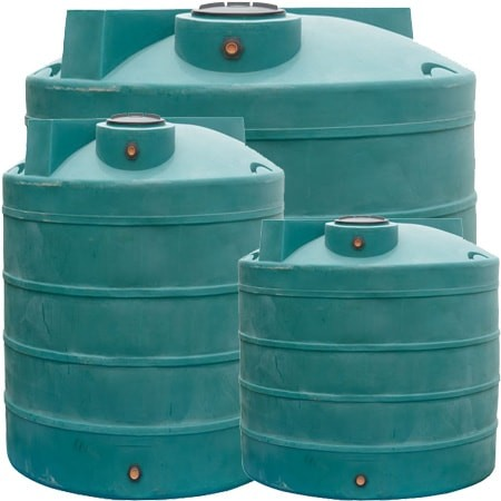 Duracast Ribbed Vertical Water Tank 6000 Gallons