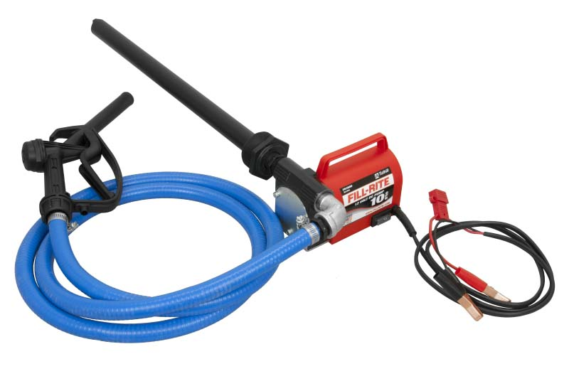 Fill Rite Fr1616 Portable 12 Volt Dc Pump With Hose