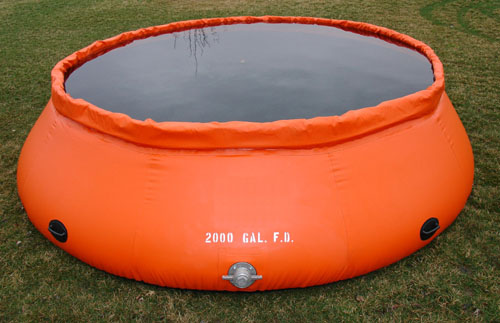 Fol-Da-Tank Self Supporting Portable Water Tank (Forest Service Model)- 500  Gallon