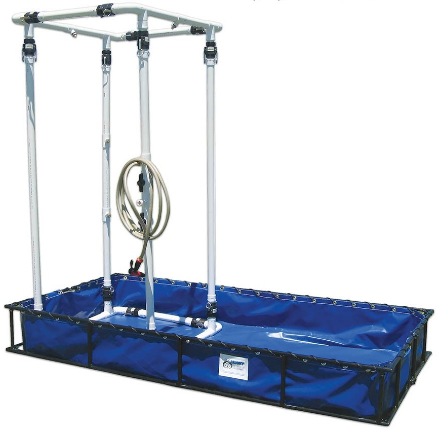 Husky Aluminum Frame Decon Shower System 4 X 8 X 1