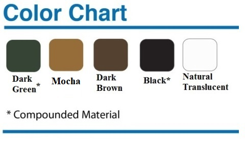 Poly-Mart Color Options