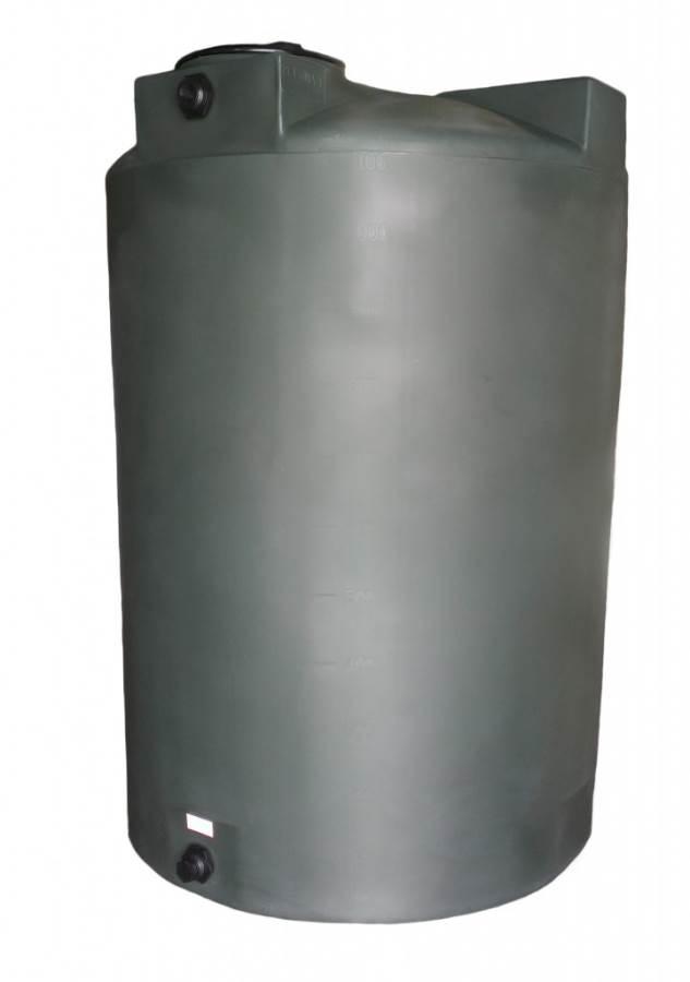 Poly Mart Vertical Water Storage Tank 1150 Gallon