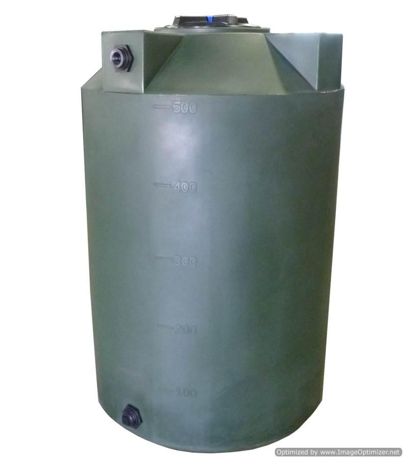 500 Gallon Water Tank >> Poly Mart Vertical Water Storage Tank 500 Gallon