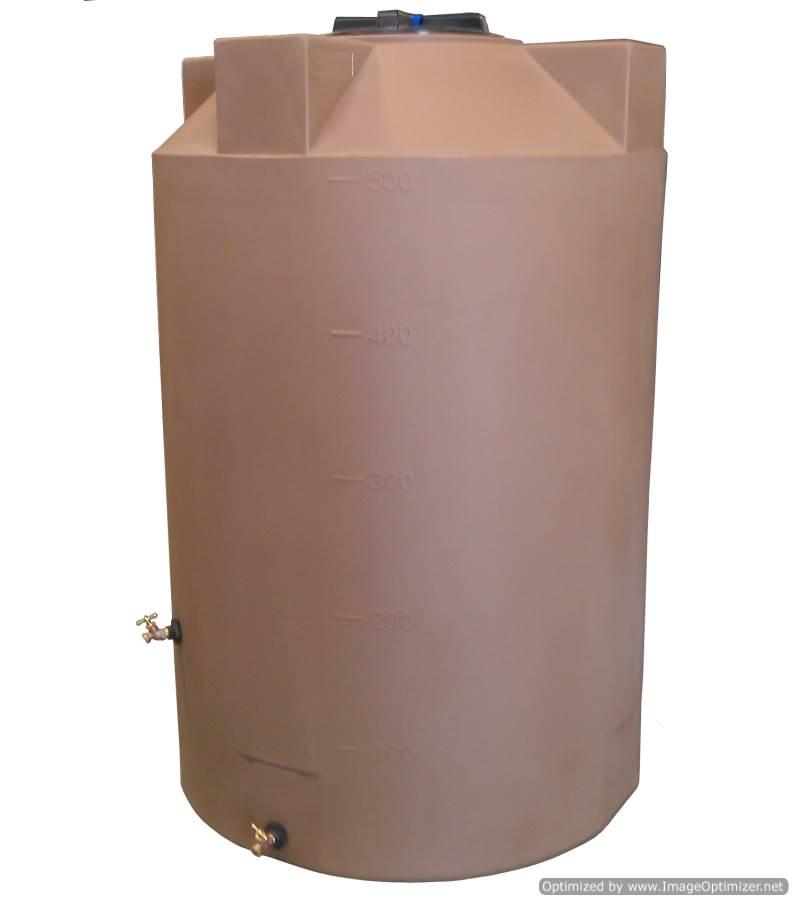 Poly-Mart Emergency Water Storage Tank - 500 Gallon