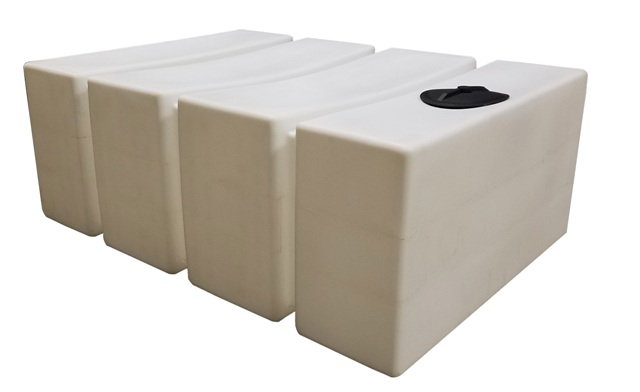 Poly Mart Rectangle Water Storage Tank 700 Gallon