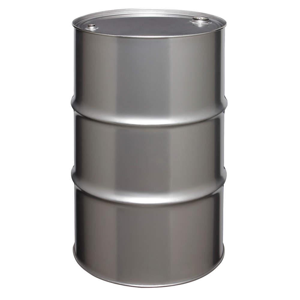Skolnik Tight Head 55 Gallon Stainless Steel Drum
