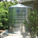 Stainless Steel Water Storage Cistern Tank - 2500 Gallon 2