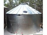Steel 30 Degree Roof Water Tank - 1535 Gallon