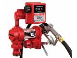 Fill-Rite FR1211H 12V Fuel Transfer Pump (Manual Nozzle, Hose, Gallon Meter, Suction Pipe) - 15