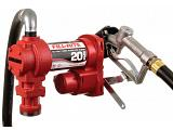 Fill-Rite FR4210H 12V Fuel Transfer Pump (Manual Nozzle, Discharge Hose, Suction Pipe) - 20 GPM
