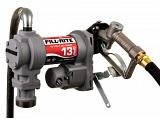 Fill-Rite SD1202H 12V Fuel Transfer Pump (Manual Nozzle, Discharge Hose, Suction Pipe) - 13 GPM