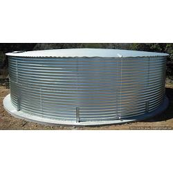 Steel Dome Roof Water Tank - 3453 Gallon 1