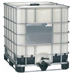 Mauser Caged IBC Tote (New Bottle) - 275 Gallon 1