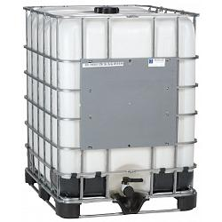 Mauser Caged IBC Tote (New Bottle) - 330 Gallon 1