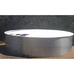 Pinnacle 11M Steel Low Profile Water Tank - 50368 Gallon 1