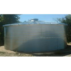 Steel 10 Degree Roof Water Tank - 9592 Gallon 1