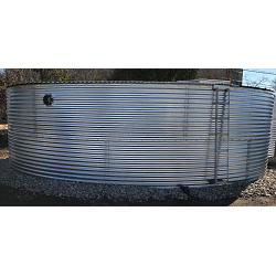Steel Dome Roof Water Tank - 13812 Gallon 1