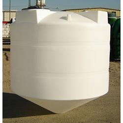 Custom Roto-Molding 1000 Gallon Closed Head Cone Bottom Tank 1