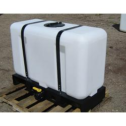 Custom Roto-Molding 100 Gallon Rectangular Skid Tank 1