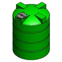 Custom Roto-Molding 1500 Gallon Water Storage Tank 1