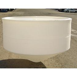 Custom Roto-Molding 600 Gallon Open Top Cone Bottom Tank 1