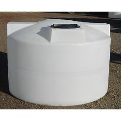 Custom Roto-Molding 750 Gallon Chemical Storage Tank (Short) 1