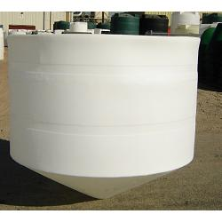 Custom Roto-Molding 825 Gallon Open Top Cone Bottom Tank 1