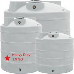 Duracast Heavy Duty Ribbed Vertical Chemical Tank - 800 Gallons 1