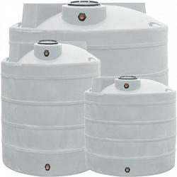 Duracast Ribbed Vertical Chemical Tank - 1500 Gallons 1