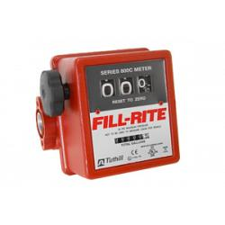 Fill-Rite 807CL1 3-Wheel Mechanical, 1 in Liter Meter 1