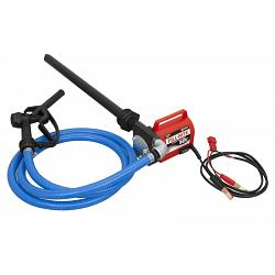 Fill-Rite FR1616 Portable 12 Volt DC Pump with Hose, Nozzle & Suction Pipe - 10 GPM 1