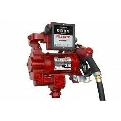 Fill-Rite FR311VB 115/230V High Flow AC Pump with Hose, Meter & High Flow Nozzle - 35 GPM 1