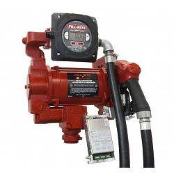 Fill-Rite FR319VBP 115/230V High Flow AC Pump with Hose, Nozzle and Meter - 27 GPM 1