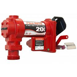 Fill-Rite FR4204G 12 Volt DC High Flow Pump Only - 20 GPM 1