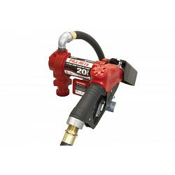 Fill-Rite FR4210GB 12 Volt DC High Flow Pump, Hose, Ultra Hi-Flo Automatic Nozzle - 20 GPM 1