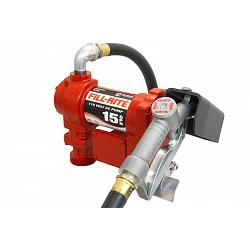 Fill-Rite FR610G 115 Volt AC Pump with Hose and Manual Nozzle - 15 GPM 1