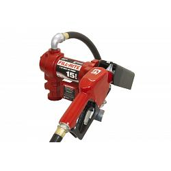Fill-Rite FR610GA 115 Volt AC Pump with Hose and Automatic Nozzle - 13 GPM 1