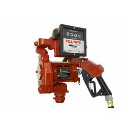 Fill-Rite FR711VLA 115V AC High Flow Pump, High Flow Automatic Nozzle, Liter Meter - 18 GPM 1