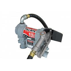 Fill-Rite SD1202G 12 Volt DC Pump with Hose and Manual Nozzle - 13 GPM 1