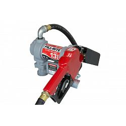 Fill-Rite SD1202GA 12 Volt DC Pump with Hose and Automatic Nozzle - 13 GPM 1