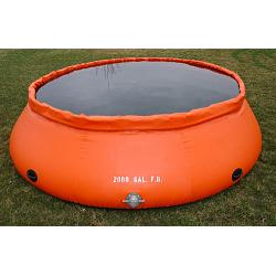 Fol-Da-Tank Self Supporting Portable Water Tank (Forest Service Model)- 2000 Gallon 1
