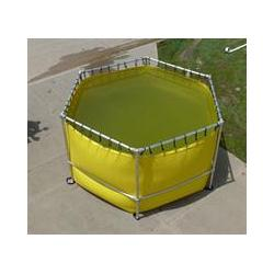 Fol-Da-Tank Quick Assemble DBL-HI Portable Tank - 3000 Gallon 2