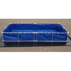 Fol-Da-Tank Complete Decontamination Pool - 300 Gallon 1