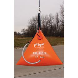 Fol-Da-Tank Flying Potable Water Series Helicopter Portable Tank - 134 Gallon 1