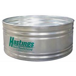 Hastings 22GA Steel Round Stock Tank - 3\' x 2\' - 101 Gallon 1