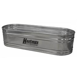 Hastings 20GA Steel Round End Stock Tank - 2\' x 2\' x 4\' - 102 Gallon 1