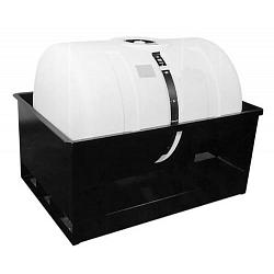 Hastings Horizontal Storage Tank And Skid Unit - 110 Gallons 1